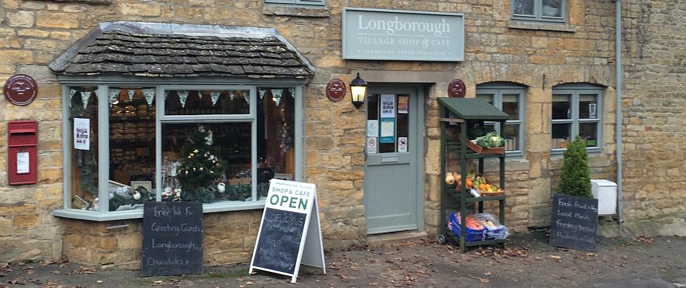 Longborough Village Shop Gets Ready For Christmas